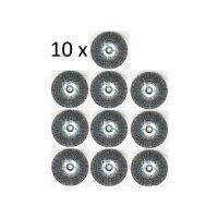 10er Set Fugenbürste Metall