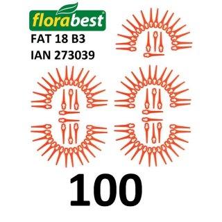 Florabest 100 Kunststoffmesser Florabest Akku Rasentrimmer Fat 18 B3