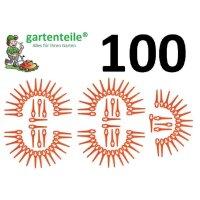 100 Messer passend für PLANTIFLOR AT18Li - Akku...