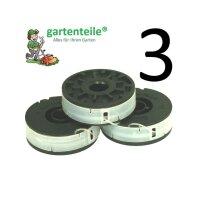 3x Spule passend für EINHELL Elektro Rasentrimmer...